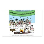 Snowman Seminar Postcards (Package of 8)