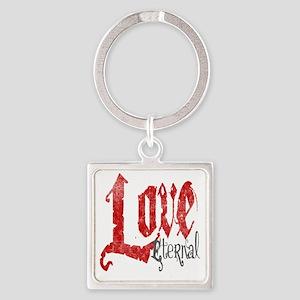 vampire-love-eternal Square Keychain