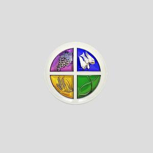 Christian Symbol Mini Button