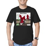Rocket Science Men's Fitted T-Shirt (dark)