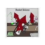 Rocket Science Throw Blanket