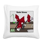 Rocket Science Square Canvas Pillow
