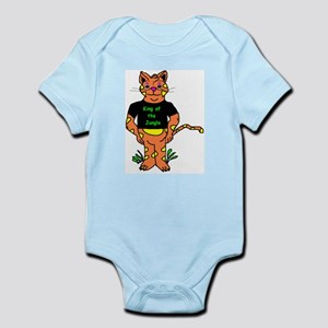King Of The Jungle Infant Creeper Body Suit