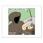 Reaper Sewing Small Poster