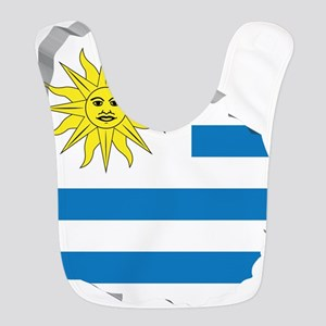 3D Map Of Uruguay Bib