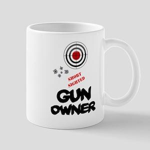 SHORT SIGHTED GUN OWNER! Mugs
