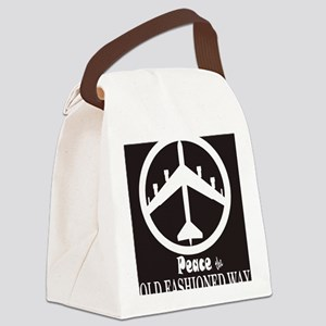 peaceB52 Canvas Lunch Bag