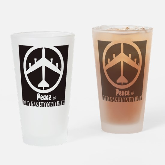 peaceB52.gif Drinking Glass