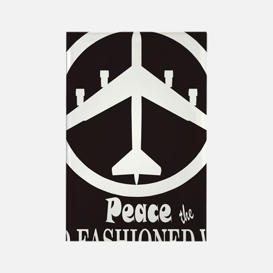 peaceB52.gif Rectangle Magnet