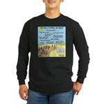 Days of Whine and Moses Long Sleeve Dark T-Shirt