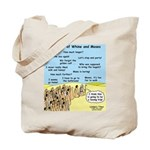 Days of Whine and Moses Tote Bag