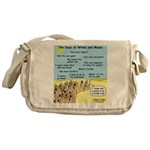 Days of Whine and Moses Messenger Bag