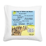 Days of Whine and Moses Square Canvas Pillow