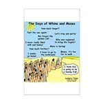Days of Whine and Moses Mini Poster Print