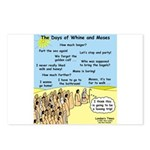 Days of Whine and Moses Postcards (Package of 8)