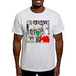 Ventriloquism School Light T-Shirt