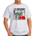 Ventriloquism School Light T-Shirt