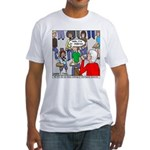 Ventriloquism School Fitted T-Shirt