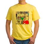 Ventriloquism School Yellow T-Shirt