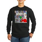 Ventriloquism School Long Sleeve Dark T-Shirt