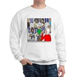 Ventriloquism School Sweatshirt