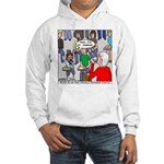 Ventriloquism School Hooded Sweatshirt