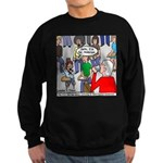 Ventriloquism School Sweatshirt (dark)