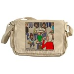 Ventriloquism School Messenger Bag