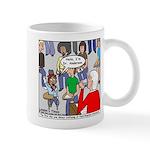Ventriloquism School Mug