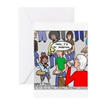 Ventriloquism School Greeting Cards (Pk of 10)