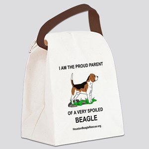 9beagleparent Canvas Lunch Bag