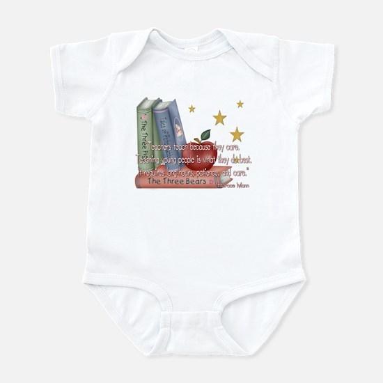 Teacher's teach - quote Infant Bodysuit
