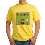 Veggy Hunter Yellow T-Shirt