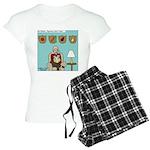 Veggy Hunter Women's Light Pajamas