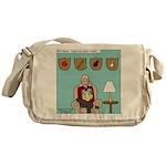 Veggy Hunter Messenger Bag
