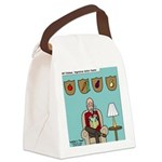 Veggy Hunter Canvas Lunch Bag