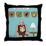 Veggy Hunter Throw Pillow