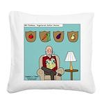 Veggy Hunter Square Canvas Pillow