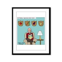Veggy Hunter Framed Panel Print
