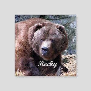 "Rocky 2010 Square Sticker 3"" x 3"""