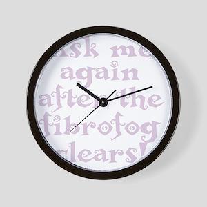fibrofog_pp Wall Clock