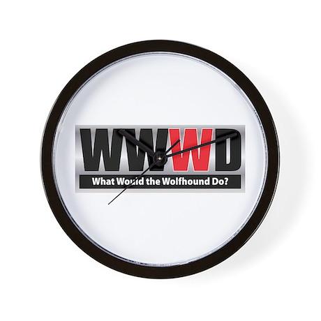 WWWD Wall Clock