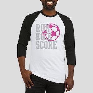 run-kick-score-darks Baseball Jersey