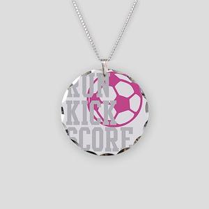run-kick-score-darks Necklace Circle Charm
