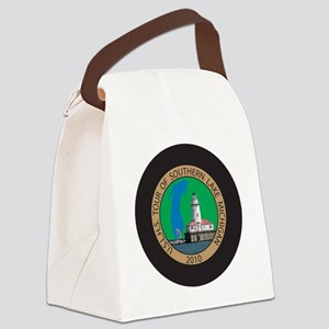 S Lk Mich Patch 4 Canvas Lunch Bag