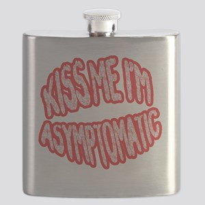 Kiss Me, Im Asymptomatic Flask