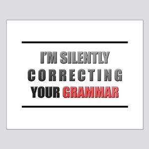 Im silently correcting your grammar Posters
