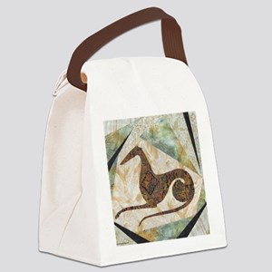 tribal Canvas Lunch Bag