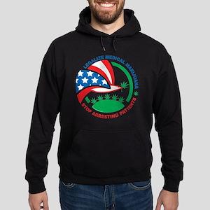 Legalize-Marijuana-Stop-Arresting-Pa Hoodie (dark)