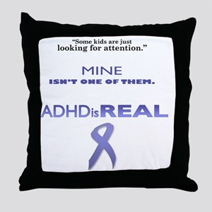 looking for attention final Throw Pillow